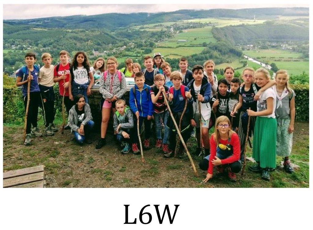 Klas L6W - Meester Wilfried